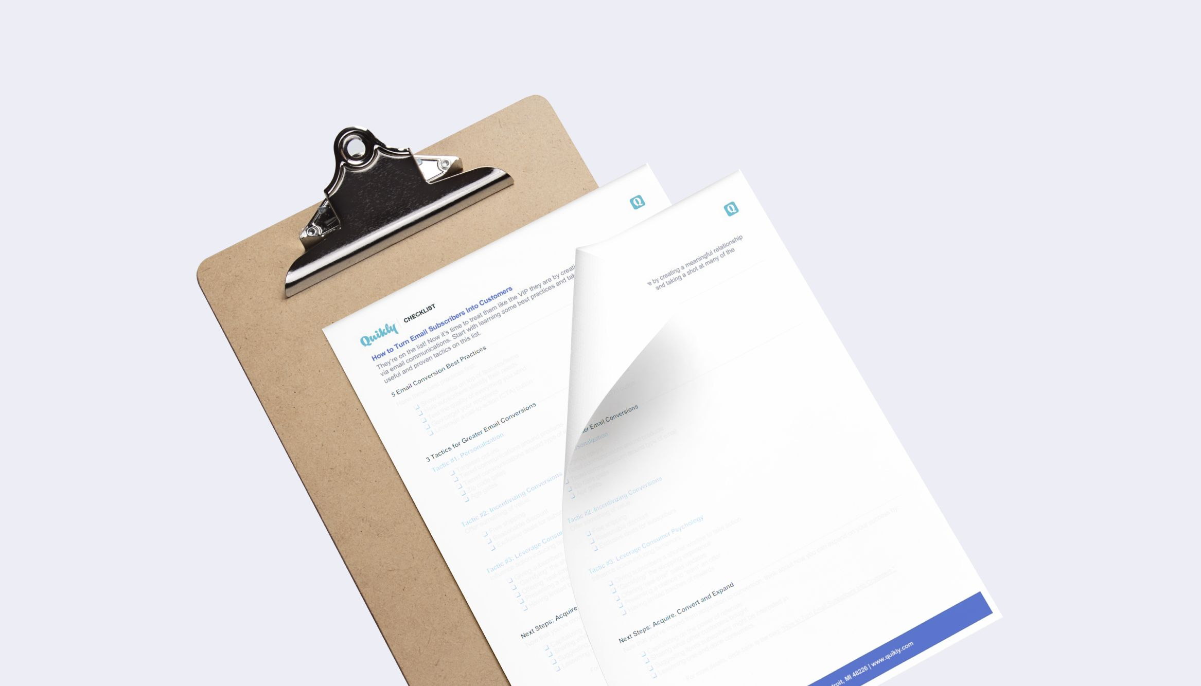 checklist-email-subscribers